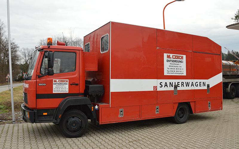sanierwagen